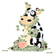 Stock-illustration-2827573-cash-cow